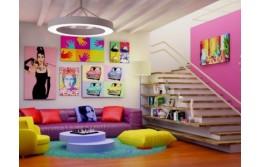Интерьерные краски – модно, стильно, креативно