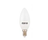 Лампа Iteria Свеча 6W 4100K E14 матовая