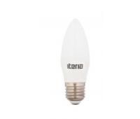 Лампа Iteria Свеча 6W 4100K E27 матовая